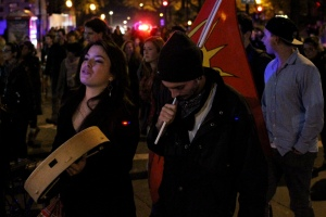 Elsipogtog solidarity demonstrations in Montreal