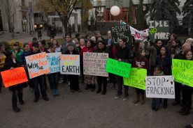 Elsipogtog solidarity demonstrations in Calgary