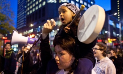 Anti-fracking protest spreads to Montreal