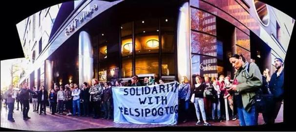 Elsipogtog solidarity demonstrations in Pittsburgh
