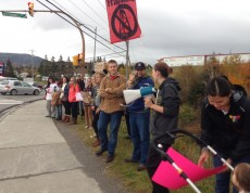Elsipogtog solidarity in Corner Brook NFLD
