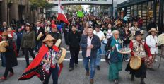 Elsipogtog solidarity demonstrations in Vancouver