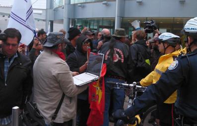 Elsipogtog solidarity in Toronto